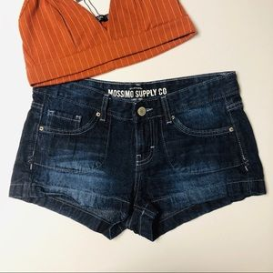 Mossimo Jean Shorts Dark Wash